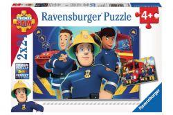Ravensburger 09042 Sam a tűzoltó 2x24 darabos puzzle