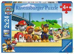 Ravensburger 09064 Mancs őrjárat hősök 2x24 darabos puzzle