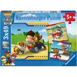Ravensburger 09369 Mancs őrjárat 3x49 darabos puzzle