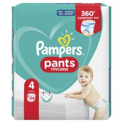 Pampers Pants 4-es 24 darabos pelenka