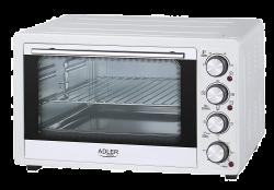 Adler AD6001 35l 1500W fehér grill