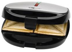 Clatronic ST/WA 3670 2 szelet 800W fekete/inox szendvicssütő