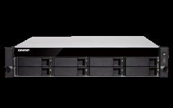 QNAP TS-877XU-RP-3600-8G 8 fiókos NAS szerver