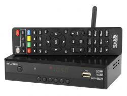 Blow DVB-T2 4805 FHD Wifi fekete digitális tv vevő