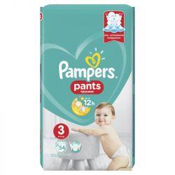 Pampers Pants 3-as 54 darabos pelenka