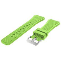 Cellect Samsung Gear S3 szilikon zöld óraszíj