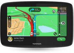 TomTom GO Essential 6 1PM6.002.10 WIFI, TLE, SMS, EU, élettartam frissítéss fekete GPS navigáció