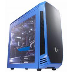 BitFenix Aegis Core mATX Ablakos Kék/Fekete Számítógépház
