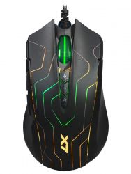 A4-TECH X89 Maze 2400DPI fekete gamer egér