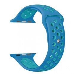 Cellect Apple Watch szilikon kék okosóra szíj