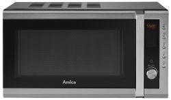 Amica AMGF20E1I 700W 20L fekete mikrohullámú sütő