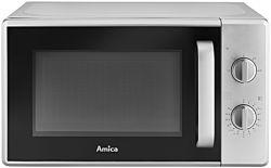 Amica AMMF20M1S 700W 20L ezüst mikrohullámú sütő