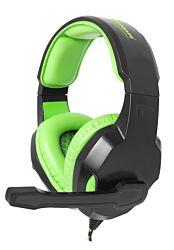 ESPERANZA EGH350G fekete mikrofonos fejhallgató