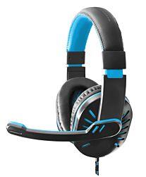 ESPERANZA EGH330B fekete-kék mikrofonos fejhallgató