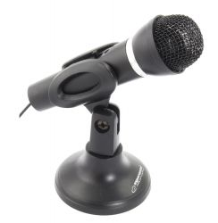 ESPERANZA SING EH180 fekete asztali mikrofon