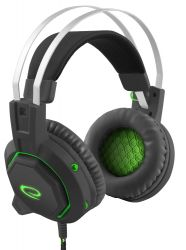 ESPERANZA EGH7000 GAMER fekete mikrofonos 7.1 fejhallgató