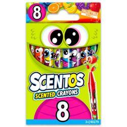 SCENTOS (40279) 8 darab illatos zsírkréta