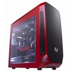 BitFenix Aegis Core mATX Ablakos Piros/Fekete Számítógépház