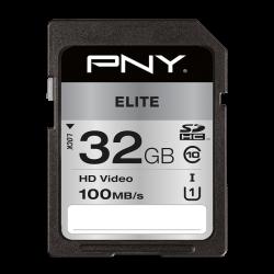 PNY Elite 32GB SDHC Class 10 UHS-I memóriakártya