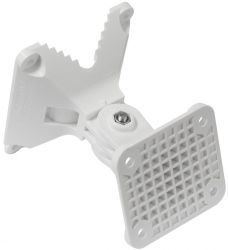 Mikrotik quickMount Pro LHG antenna fehér fali tartó