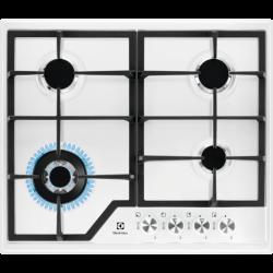 Electrolux EGS6436WW 4 főzőzóna, 8800 W inox-fekete beépíthető gáz főzőlap