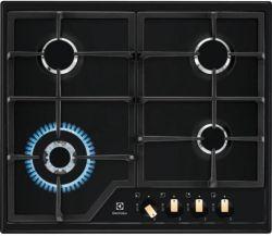 Electrolux EGS6436RK 4 főzőzóna, 8800 W fekete beépíthető gáz főzőlap