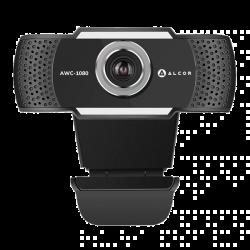 Alcor AWC-1080 Full HD 2MP microUSB fekete webkamera