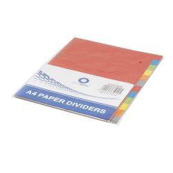 BLUERING JJ40912B12 12 részes színes karton Elválasztólap