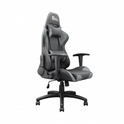 White Shark Terminator 83 cm háttámla magasság, 51 x 52 cm ülés méret fekete-szürke gamer szék