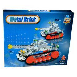 Conmay 14018 (175 db) Tank fém építőjáték
