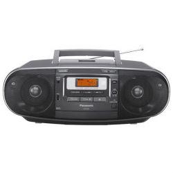 Panasonic RX-D55AEG-K kazettás fekete CD-s rádió