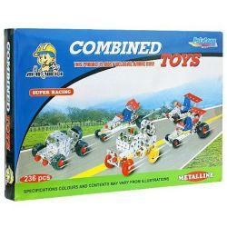 Metalline 14472 (236 db) Autóverseny fém építőjáték