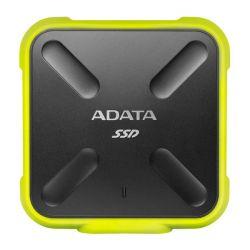ADATA SD700 256GB, 440/430MB/s, USB3.1, sárga külső SSD