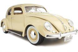 Burago 18-12029 1/18 - VW Kafer Beetle 1955 sárga játékautó