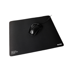 Acme 293x250x3mm fekete gamer egérpad