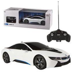 Rastar 94106 1:14 BMW i8, USB, nyitható ajtós távirányítós autó