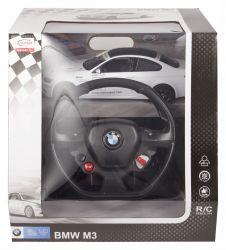 Rastar 11877 1:14 BMW M3 fehér távirányítós autó