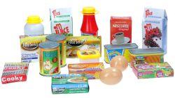 Regio (35971) színes műanyag 18 darabos boltos játék szett
