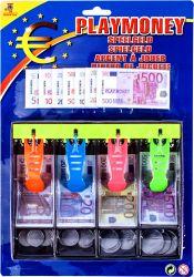 Regio (22333) színes papír-műanyag 120 darabos euro játékpénz