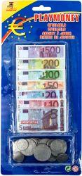 Regio (22336) színes műanyag-papír euro játékpénz készlet