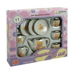 Regio (23268) Maci mintás 11 darabos porcelán teázó