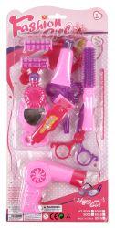 Regio (96107) rózsaszín műanyag, 12 darabos szépségápolási szett