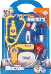 Regio (97597) színes műanyag orvosi eszköz készlet