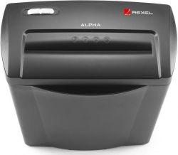 Rexel Alpha C/C konfetti, 5 lap, fekete Iratmegsemmisítő