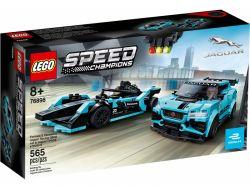LEGO® (76898) Speed Champions Formula E Panasonic Jaguar Racing Gen2 & Jaguar I-Pace eTROPHY