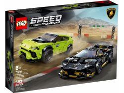 LEGO® (76899) Speed Champions Lamborghini Urus ST-X & Lamborghini Huracán Super Trofeo EVO