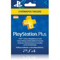 Sony PlayStation Plus 90 napos feltöltőkártya