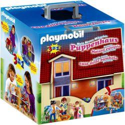 Playmobil® (5167) DOLLHOUSE Hordozható családi ház
