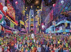 Ravensburger 16423 Times Square Szilveszter 500 darabos puzzle