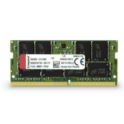 KINGSTON NB DDR4 16GB 2400MHz CL17 SODIMM Dual Rank x8 memória